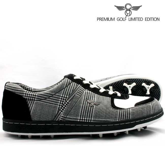 クリエイティブ レクリエーション GCR9230 ミラノ ゴルフ リミテッド ブラック ホワイト