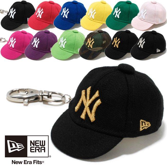 キーホルダー ニューエラ キャップキーホルダー ニューヨークヤンキース 12カラーズ