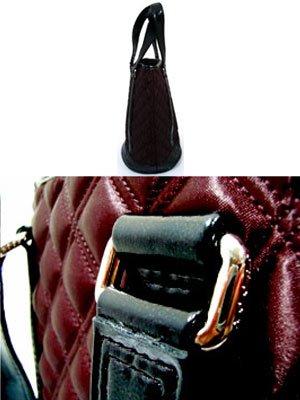 【SALE】マークジェイコブス サテン キルティング トートバッグ バケットの画像