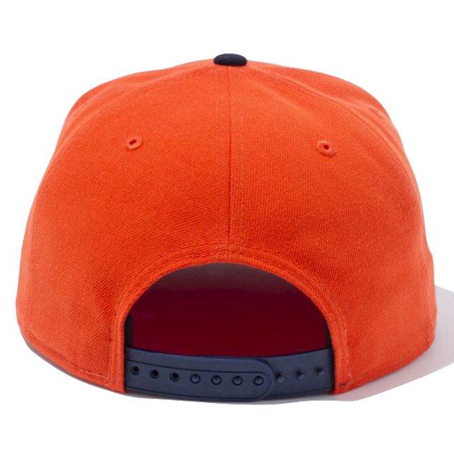 ニューエラ 950スナップバック キャップ アンダーバイザー ニューヨーク オレンジ ミッドナイトネイビー グレーの画像
