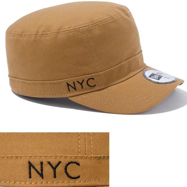 ニューエラ ワークキャップ WM01 ニューヨークシティー ダックタン ブラックの画像