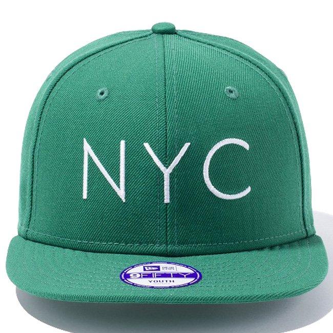 ニューエラ 950 スナップバック キッズ キャップ ニューヨークシティ ケリー スノーホワイト スノーホワイトの画像