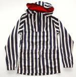 <img class='new_mark_img1' src='//img.shop-pro.jp/img/new/icons24.gif' style='border:none;display:inline;margin:0px;padding:0px;width:auto;' />Original John STRIPE SMOCK PARKA  NAVY