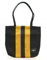 NEVERTRUST CORDUROY STRIPE BAG  BLACK