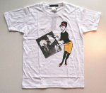 Original John  BEAT GIRL Tシャツ   WHITE