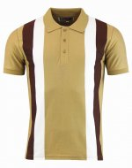 "<img class='new_mark_img1' src='//img.shop-pro.jp/img/new/icons8.gif' style='border:none;display:inline;margin:0px;padding:0px;width:auto;' />MADCAP ENGLAND  ""MOODY"" STRIPE POLO SHIRTS  CAMEL"