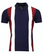 "<img class='new_mark_img1' src='//img.shop-pro.jp/img/new/icons8.gif' style='border:none;display:inline;margin:0px;padding:0px;width:auto;' />MADCAP ENGLAND  ""MOODY"" STRIPE POLO SHIRTS  NAVY"