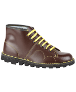 GRAFTERS   MONKEY BOOTS  WINE(BROWN)