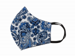 RELCO LONDON  PAISLEY MASK (PS13)  BLUE&WHITE