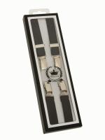 RELCO LONDON  英国製 H型 ブレイシズ  BLACK