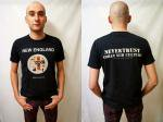 NEVERTRUST   NEW ENGLAND T-SHIRT BLACK