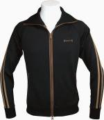COOLSCAT   JERSEY JACKET  BLACK