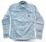 <img class='new_mark_img1' src='//img.shop-pro.jp/img/new/icons24.gif' style='border:none;display:inline;margin:0px;padding:0px;width:auto;' />NEVERTRUST  PAISLEY PRINT HORIZONTAL COLLAR L/S SHIRTS  BLUE