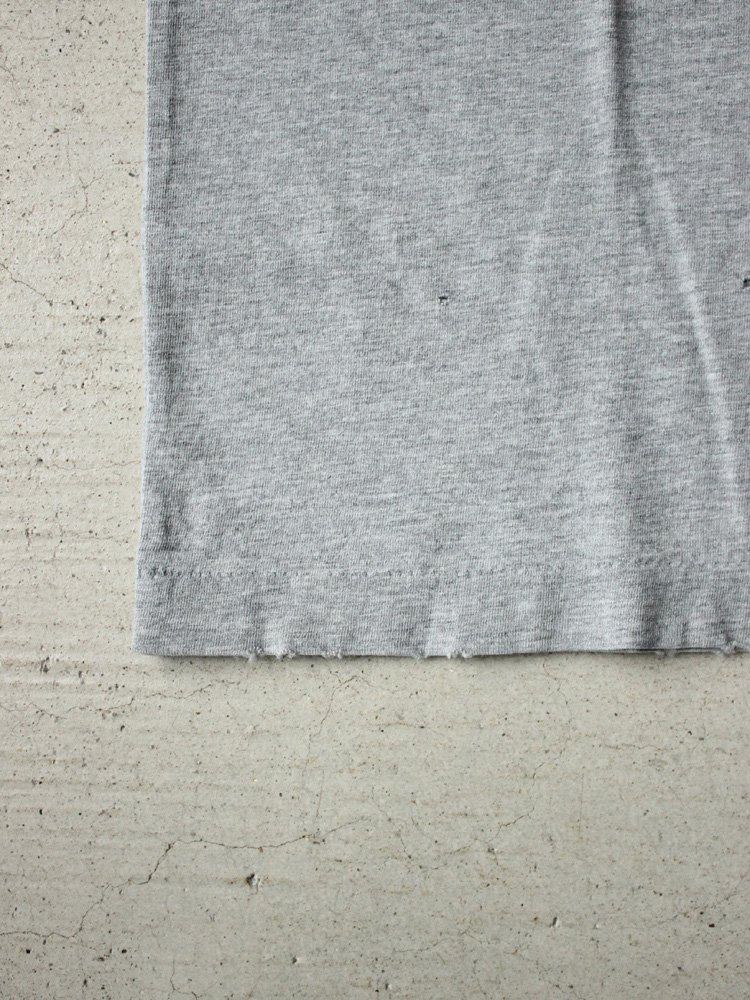 REMI RELIEF | レミレリーフ スペシャル加工T (海入口) #HEATHER GRAY
