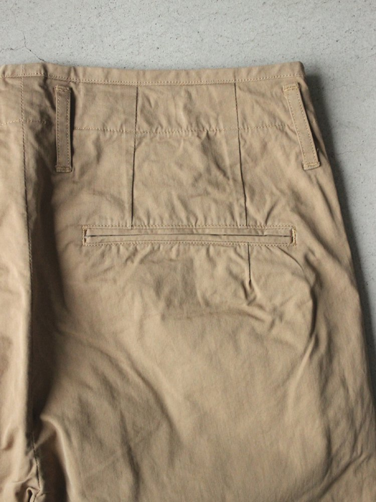 セール対象商品 Officeer Trousers Wide Straight
