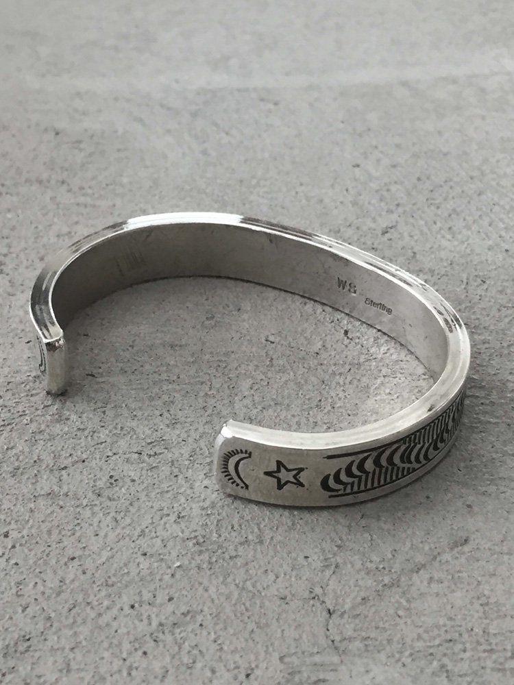 Indian Jewelry   インディアンジュエリー Navajo Bangle [Wylie Secatero]