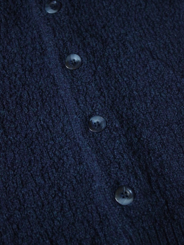 Nasngwam. | ナスングワム YARD CARDIGAN #NAVY