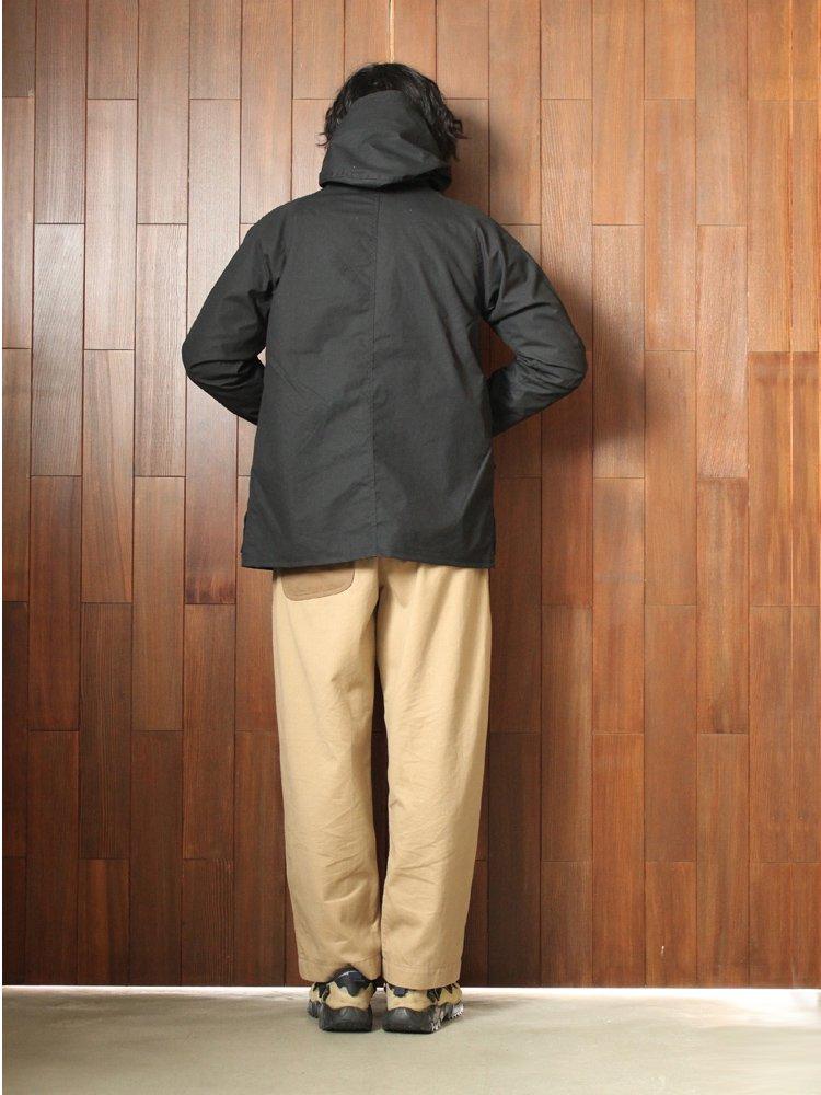 Nasngwam. | ナスングワム ALPS JACKET(WAX COATING) #BLACK