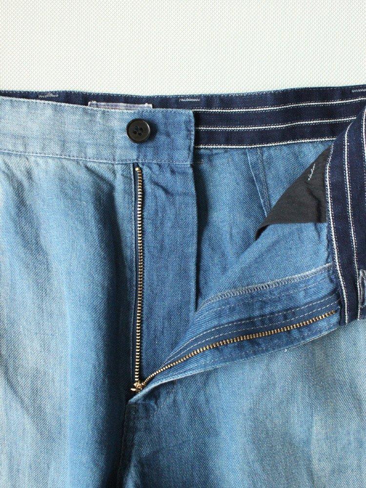 BLUE BLUE | ブルーブルー インディゴフレンチワークトラウザーズ