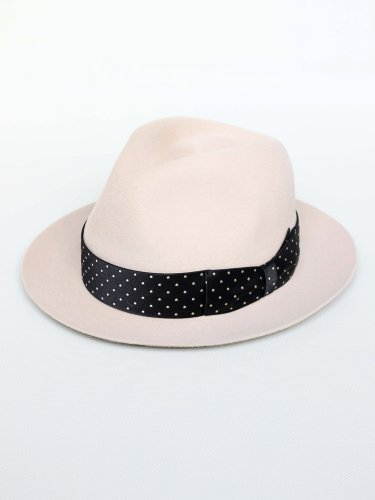 HAT-01-LURIE-MAGA-DOTS #BEIGE