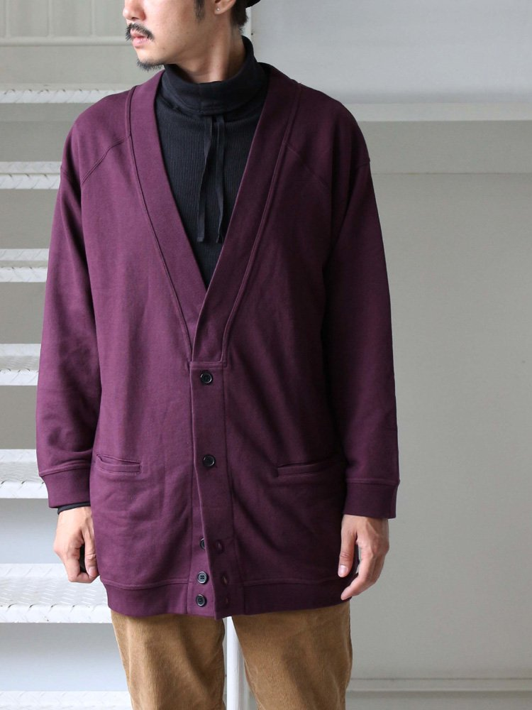 セール LARGO CARDIGAN #PURPLE