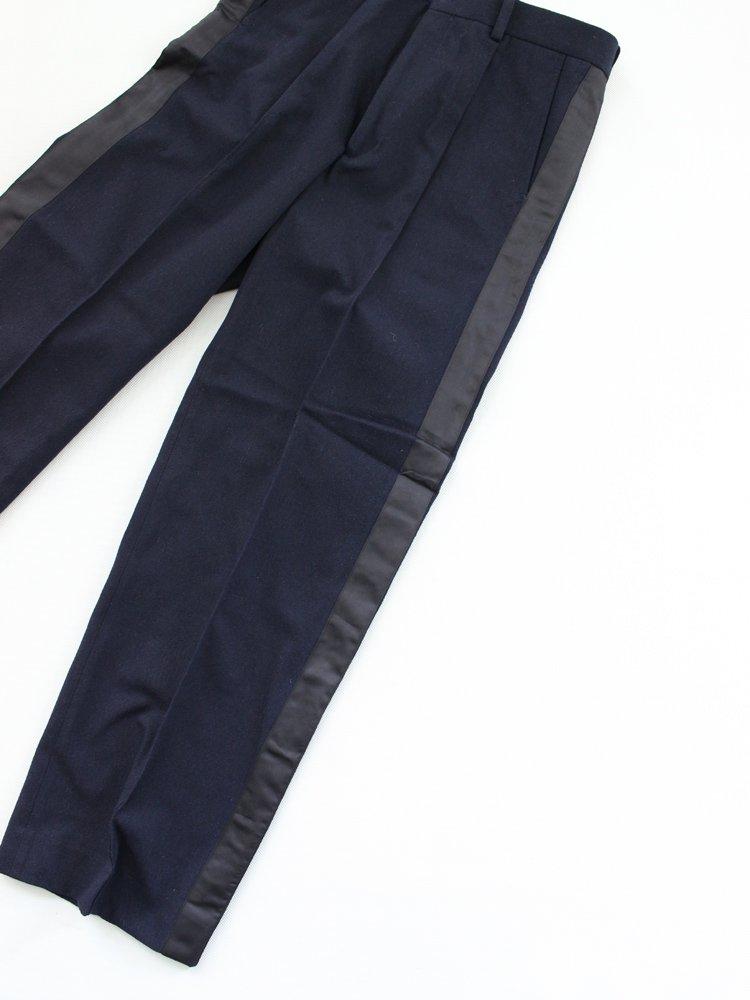 Varde77 | バルデセブンティセブン WOOL BIG LINE PANTS #NAVY