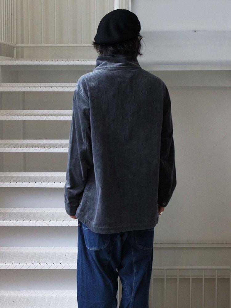 VOO   ヴォー CORDUROY STAND JKT #CHARCOAL