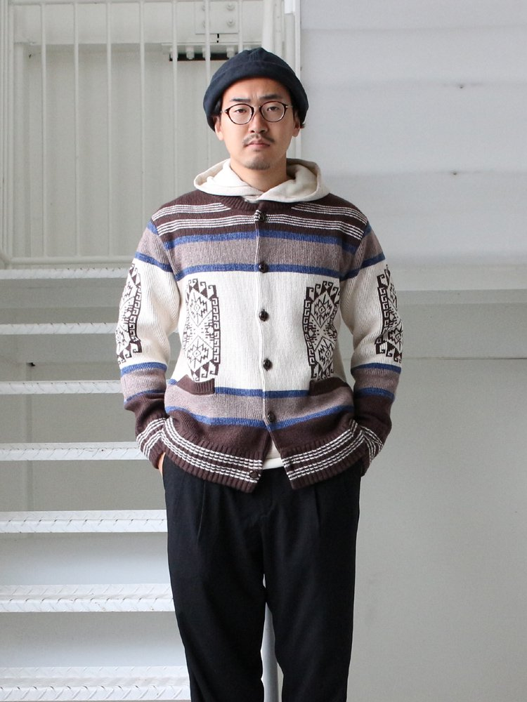 MAPUCHE KNIT #BROWN