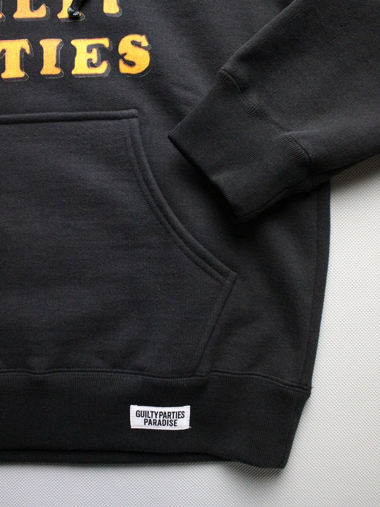 WACKO MARIA | ワコマリア WASHED HEAVY WEIGHT PULLOVER HOODED SWEAT SHIRT (TYPE 2) #BLACK