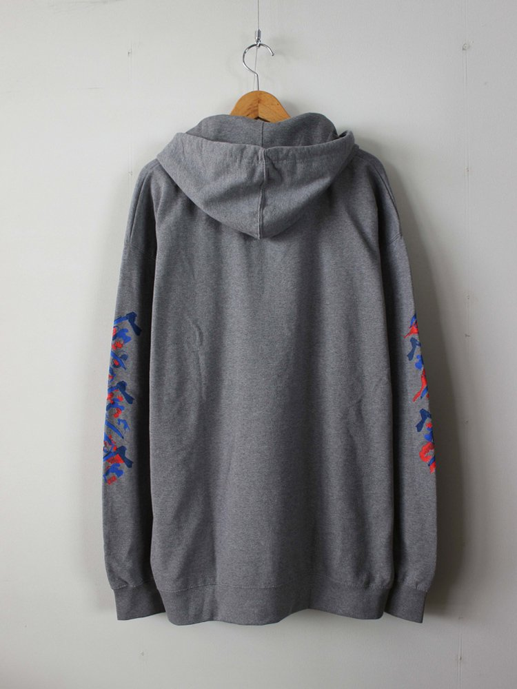 DOSU HOOD #HEATHER GRAY