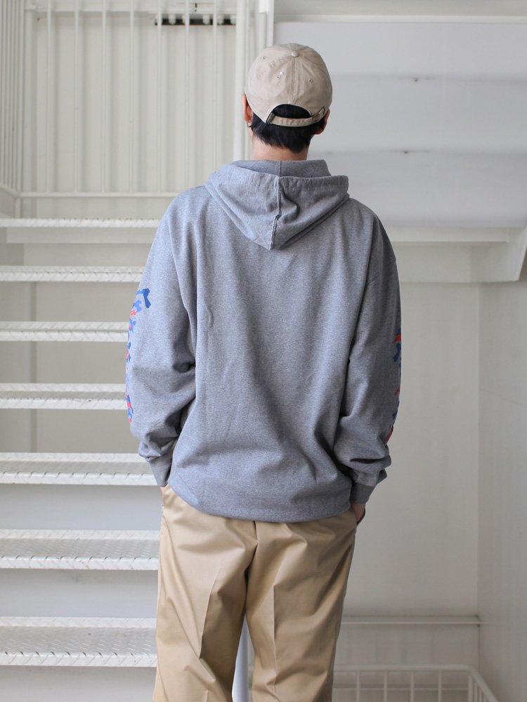 Evisen Skateboards | エヴィセンスケートボーズ DOSU HOOD #HEATHER GRAY