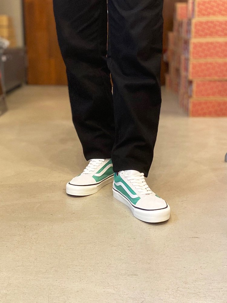 OLD SKOOL 36 DX (ANAHEIM FACTORY) #WHITE/OG JADE