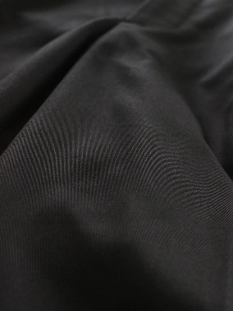 WIDE TACK PANTS #BLACK