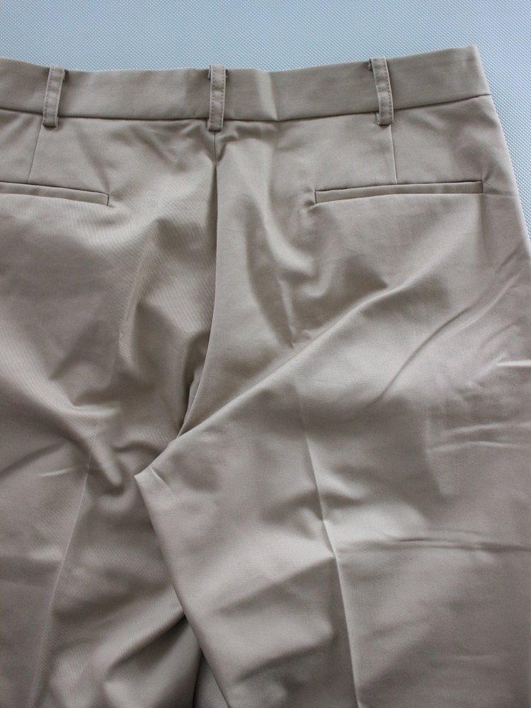 WIDE TACK PANTS #BEIGE
