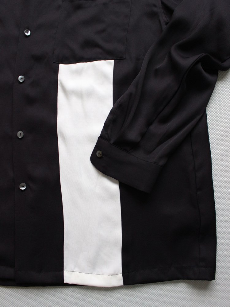 BOWLING SHIRT #BLACK