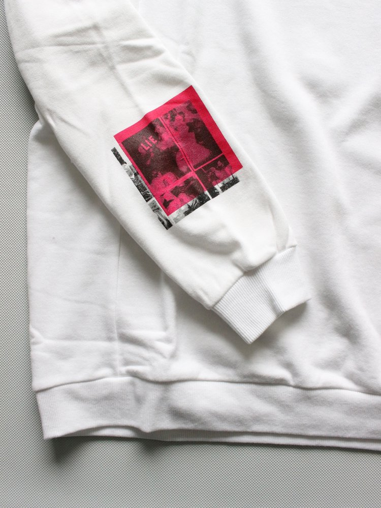 L/S SWEAT #WHITE