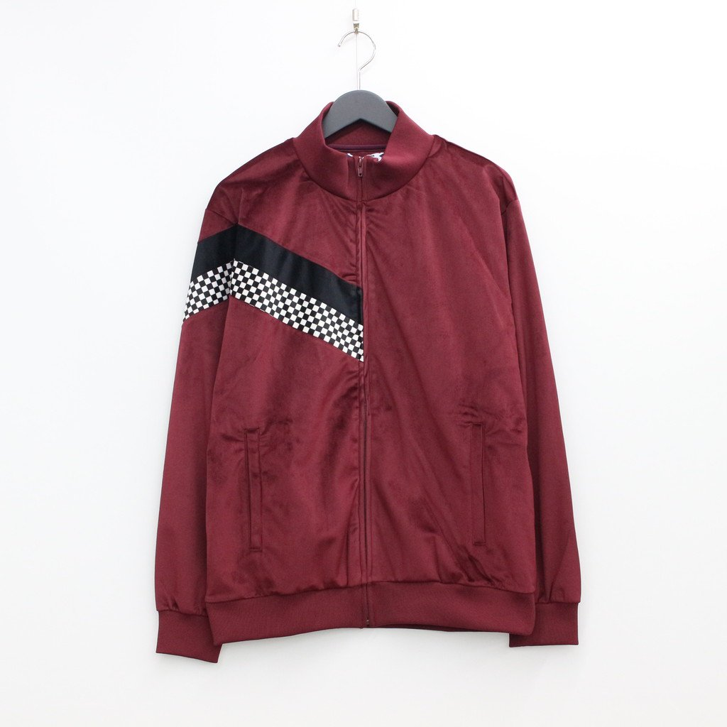 SON OF THE CHEESE check Jersey JKT #WINE