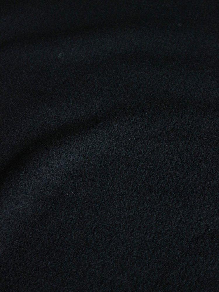 BOUCLE V NECK #BLACK