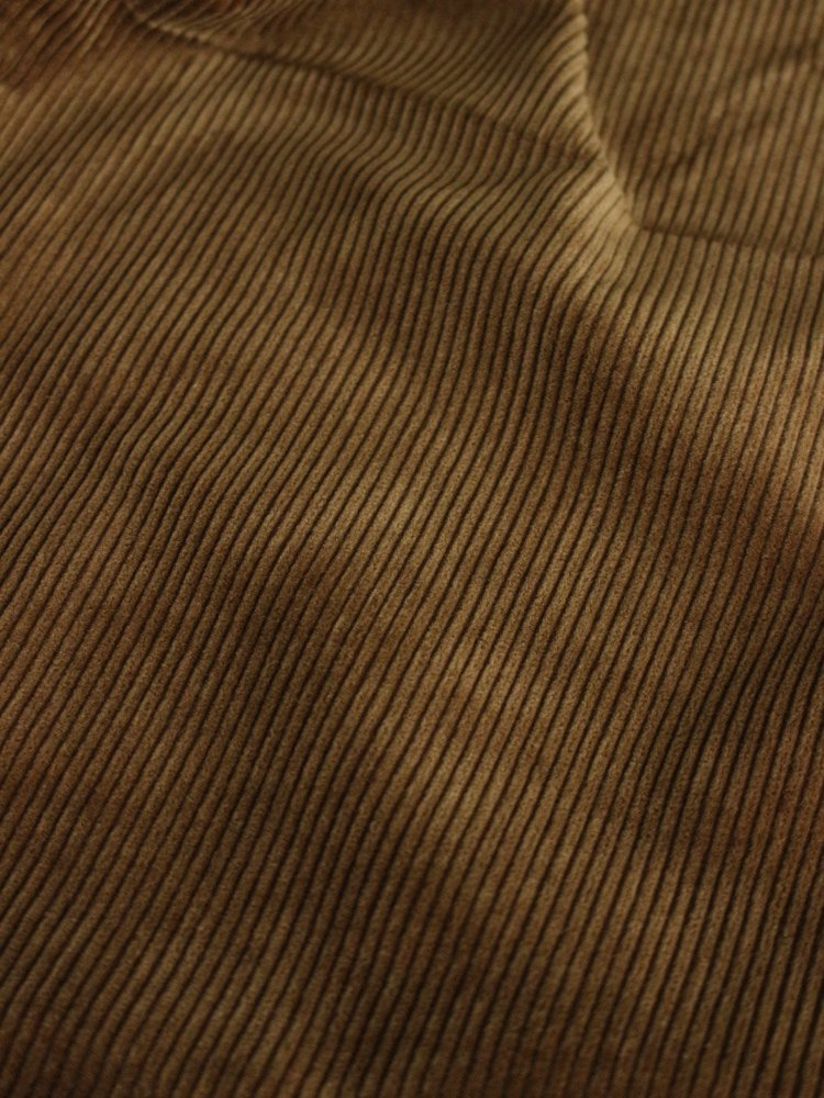 2TAC CORDUROY PANTS #BROWN