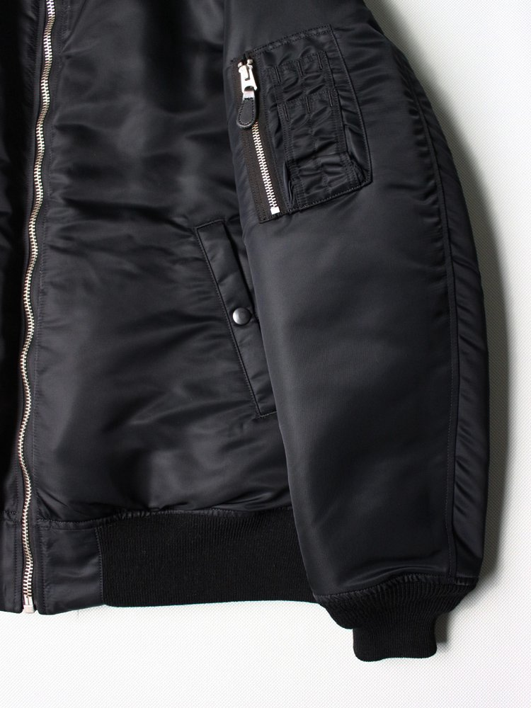 MA-1 FLIGHT JACKET (TYPE 2) #BLACK