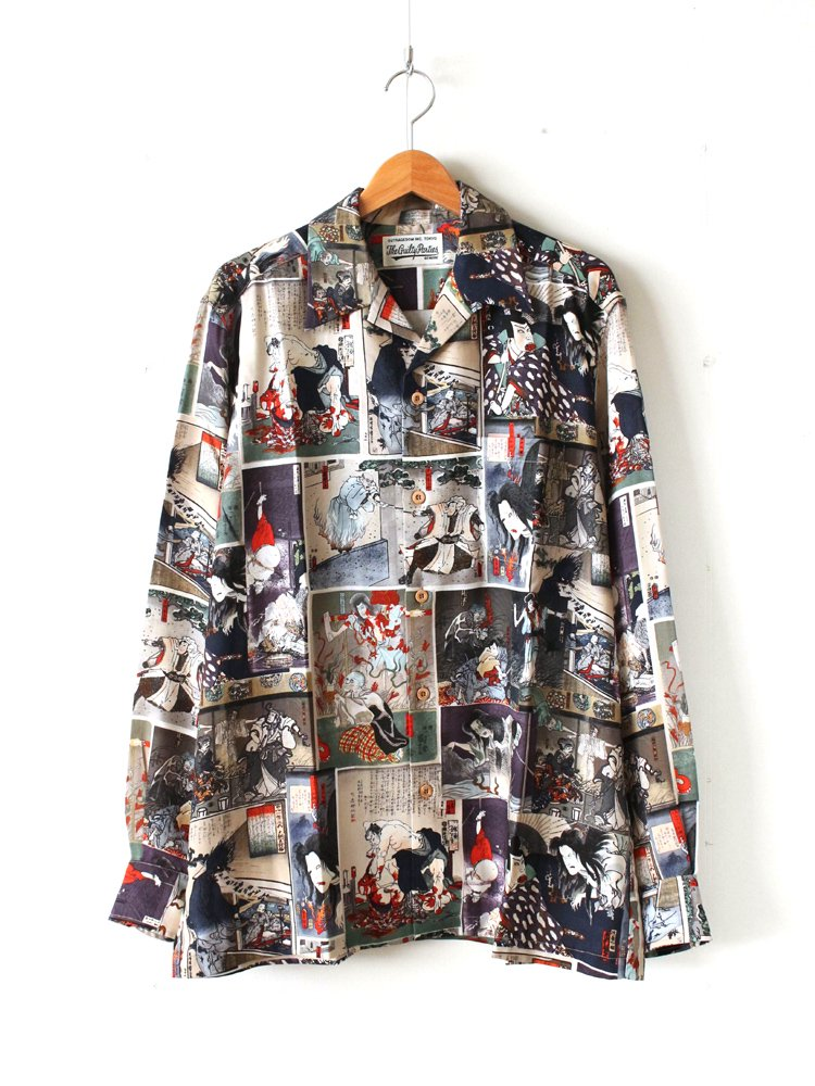 WACKO MARIA|L/S HAWAIIAN SHIRT #COLOR
