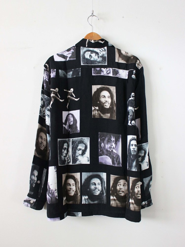 BOB MARLEY | HAWAIIAN SHIRT #BLACK