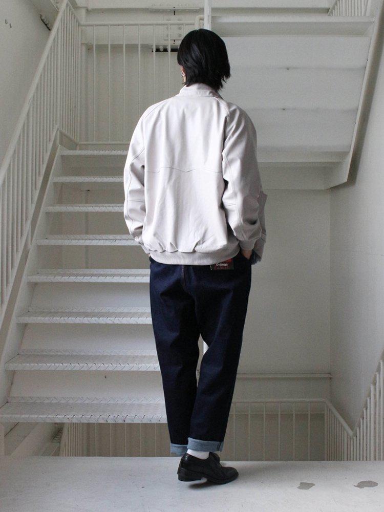 E9 LEATHER JKT #WHITE [18FWSP-EVI-OUT-01]
