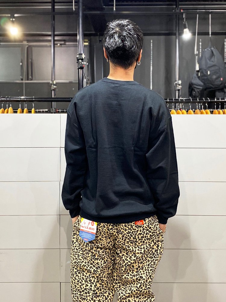 MONA LISA SWEAT #BLACK [19SS-FS-43]