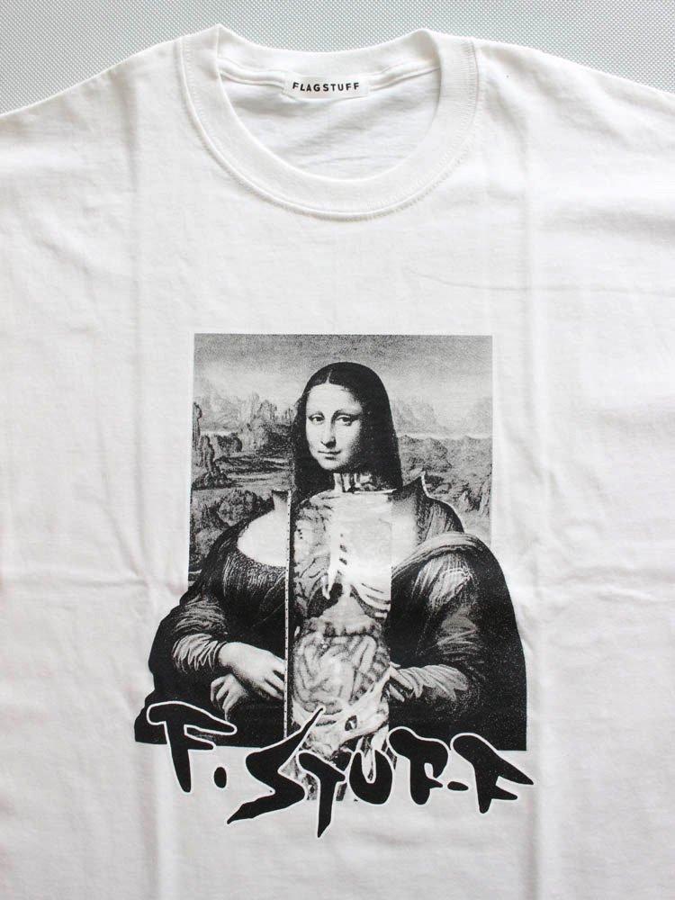 MONA LISA TEE #WHITE [19SS-FS-58]