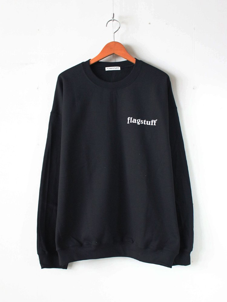F-LAGSTUF-F|BOX LOGO SWEAT #BLACK [19SS-5th-FS-03]