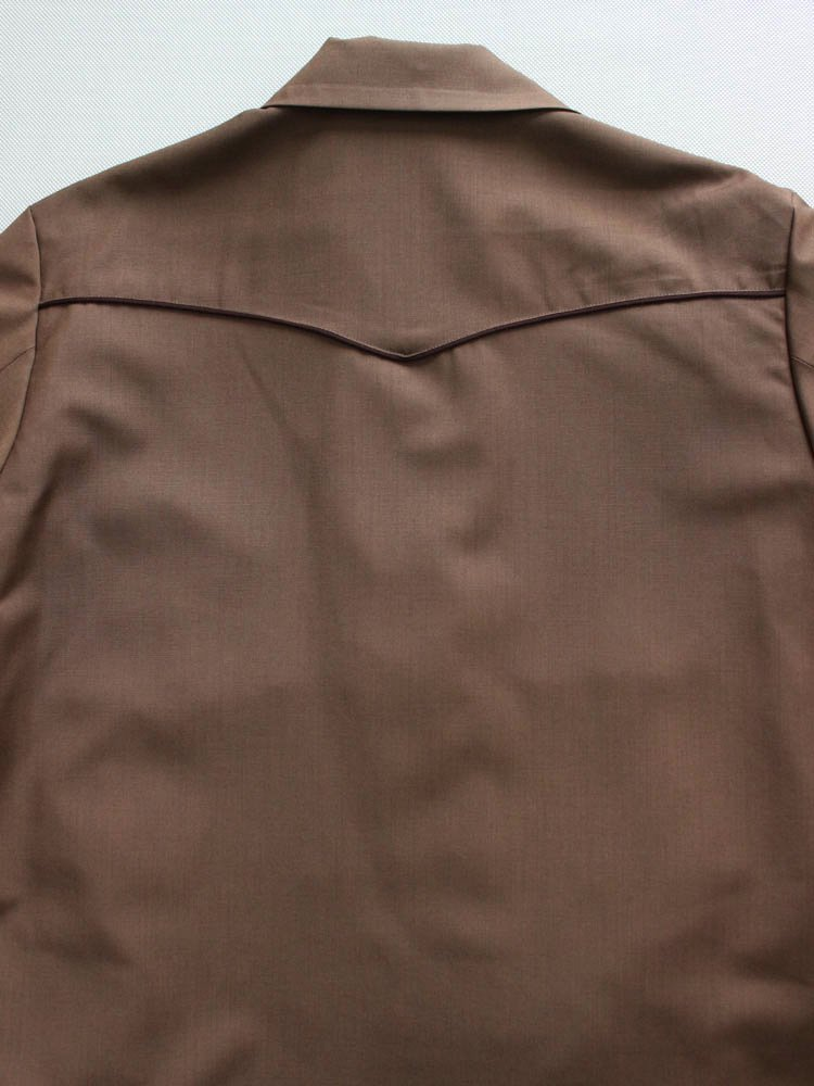 WESTERN JACKET (TYPE 2) #BROWN [19SS-WMO-BL11]