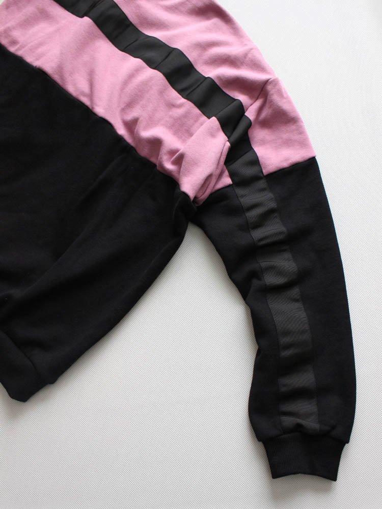 LINE SWEAT #BLACK/PURPLE [19SS-FS-23]