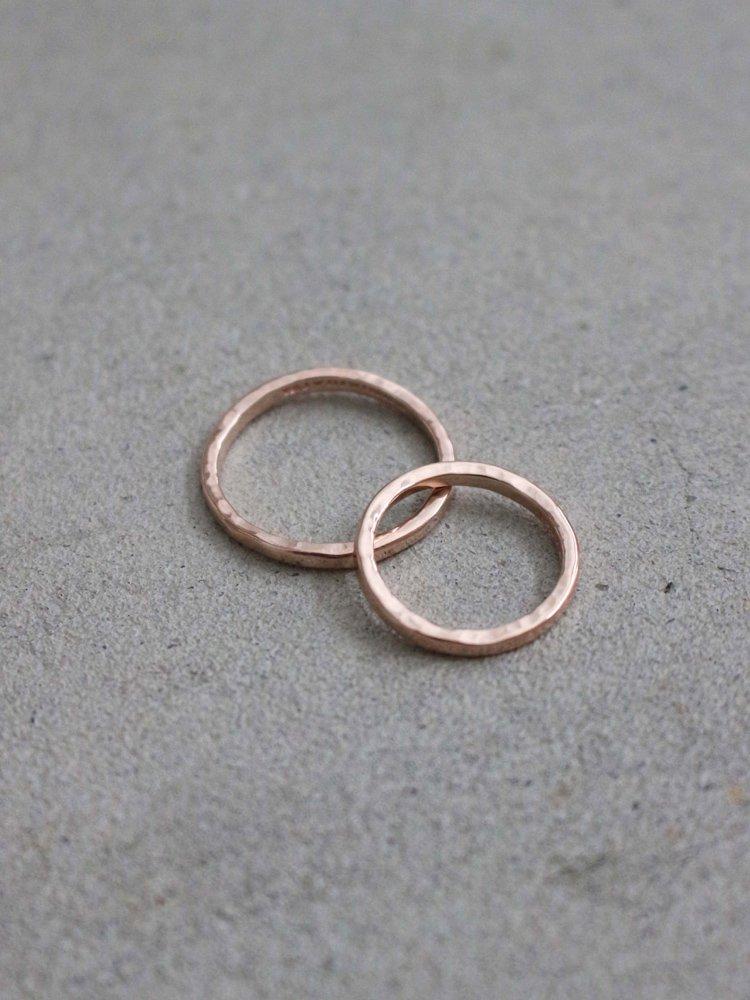 Tsunai Haiya|LOOSE RING #PINK GOLD [190312-TSUNAI-05]