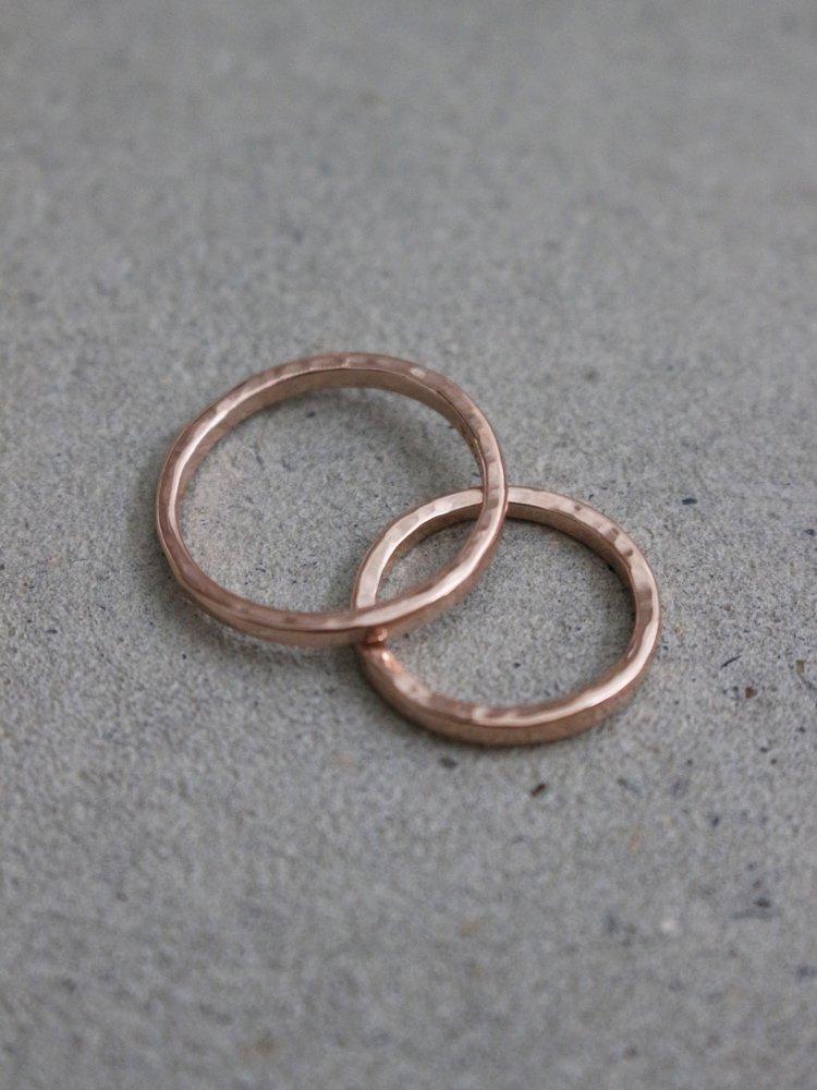 LOOSE RING #PINK GOLD [190312-TSUNAI-05]